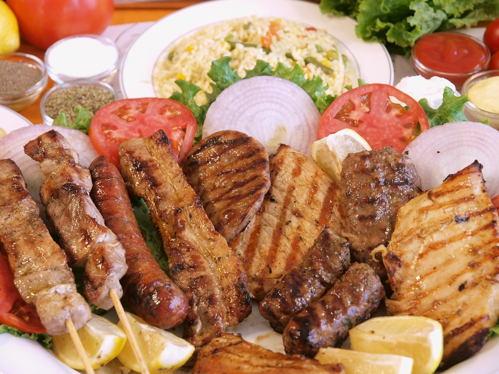 Fleischgerichte vom Grill / Grillades