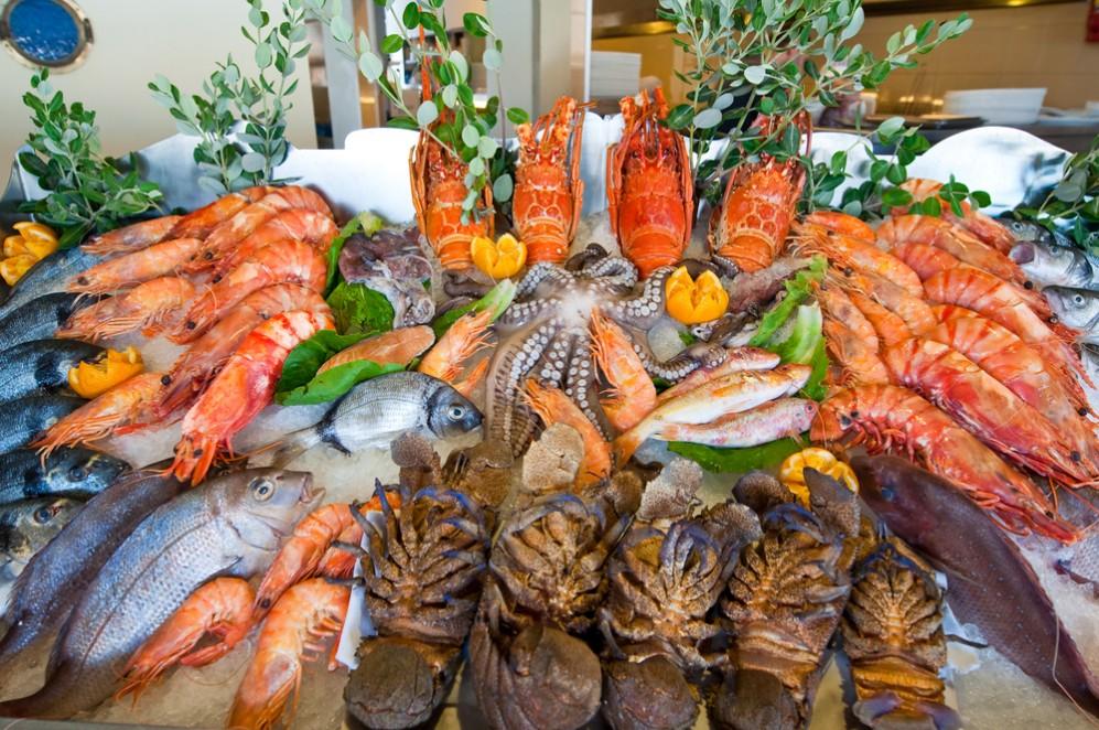 Delikatessen aus dem Meer